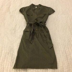 H&M Military Inspired Dress